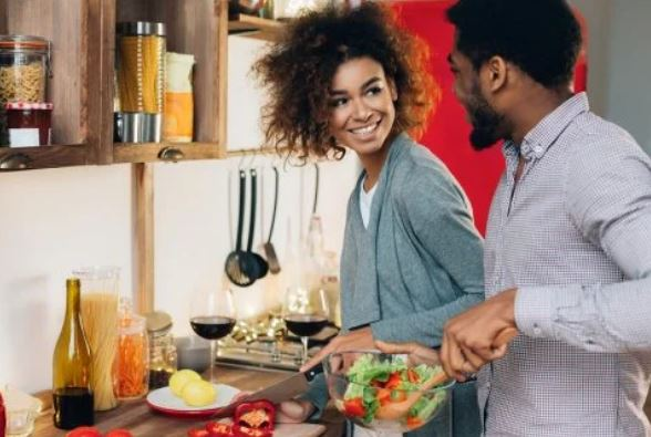 Cooking as a couple, how choose your life partner